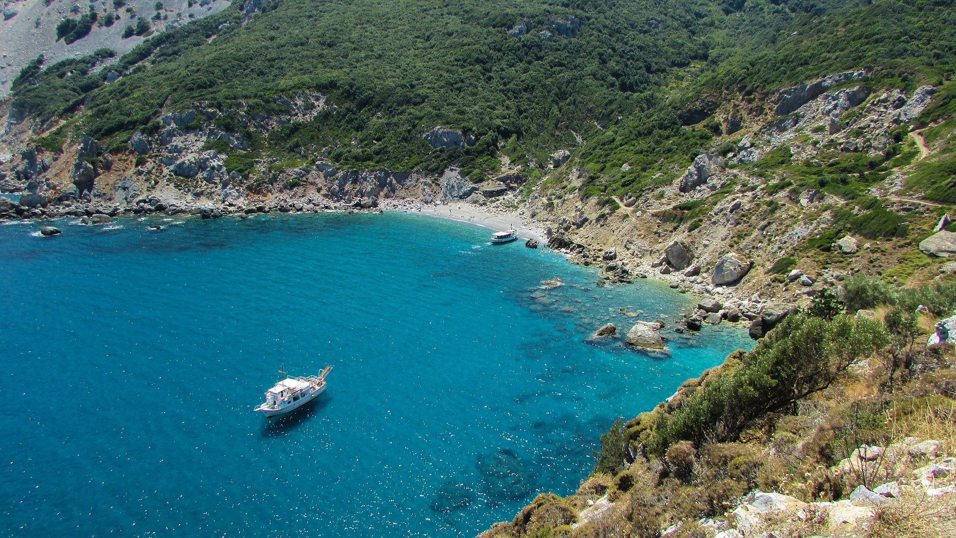 gestion location bateau skiathos - Kiriacoulis France